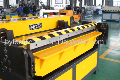 0.5-1.5mm BYFO Brand Auto duct line machine