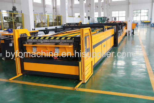 Nanjing BYFO hvac duct former making line for air duct