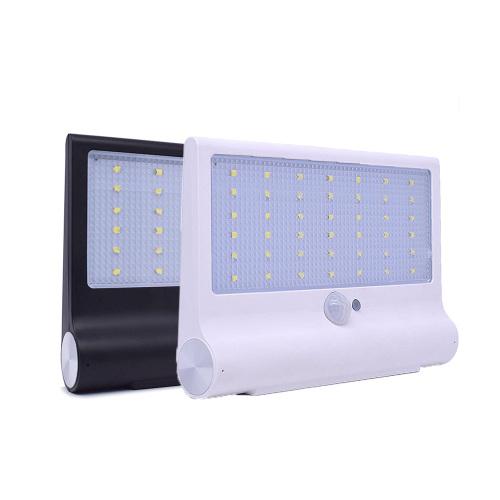 New design 42led 3.7V 2200mAh solar power home garden light outdoor waterproof lamps
