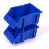 Stackable spare parts tools storage plastic bin box