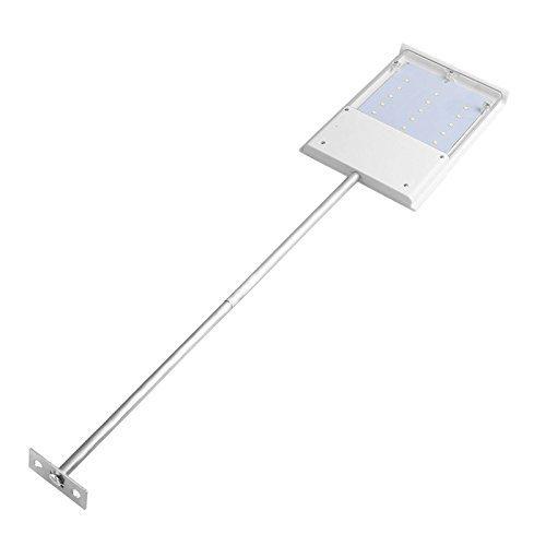 Eco power Waterproof Solar Powered Sensor Ultra-thin Outdoor Wall Street Light Garden Lamp (15LED)