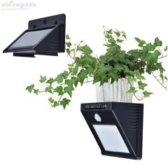 Outdoor Solar Lights Separable Solar Panel Waterproof Motion Sensor Security Light 10 LEDS Powered Wall Light