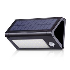 32LED Solar Powered Motion Sensor Outdoor Garden Lamp Wall Path Light Waterproof