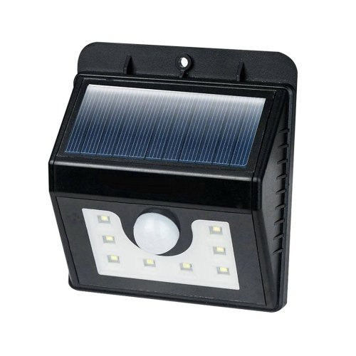8 LED Solar Lights Security Lights Motion Sensor 3-in-1 Waterproof Solar Powered Security Lights Outdoor Light Wall Lamp