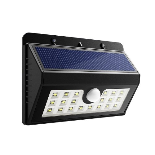 Solar wall light 3 Light mode 20 LED Motion Sensor Security Lights Home Security Solar Lights