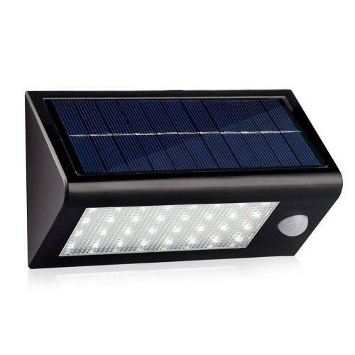 32 LED Solar Powered PIR Motion Sensor Light Rechargeable Waterproof Outdoor Solar Wall Porch Pathway Garden Street