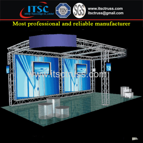 Aluminum Plat Roof Truss Rigging for Trade Show Booth Exhibition Display