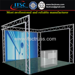 Aluminum Small Exhibition & Display Booth Truss Rigging