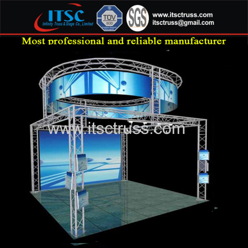 Exhibition Equipment Trade Show Exhibition Display Light Weight Truss Rigging