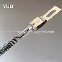 china supplier Quartz glass Halogen Infrared Lamp for painting