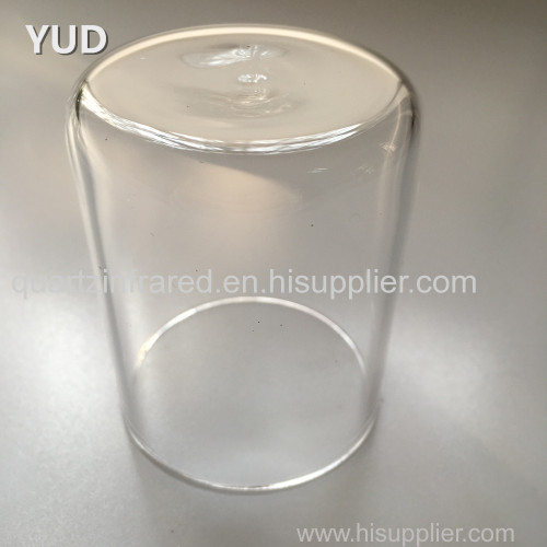 Low Form Quartz Crucibles with Lid
