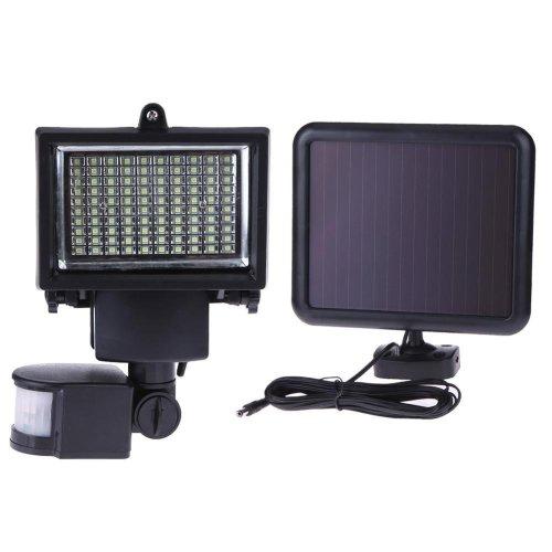 3.7V 4000mAh battery Solar Sensor Wall Light 100 LED Intelligent Motion Sensor home Garden Lamp
