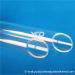 все виды высококачественной кварцевой трубки высокотемпературной устойчивой дальнейшей обработки кварцевой трубки с крышкой для продажи