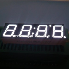 4 digit white 7 segment led display;0.39