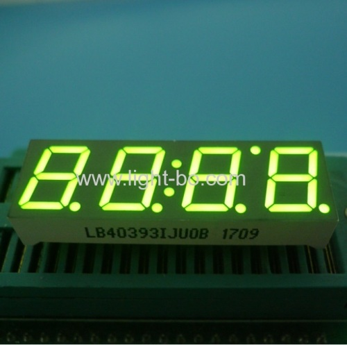 Ultra bright Red 0.39 4 Digit 7 Segment LED Display common cathode for Instrument Panel