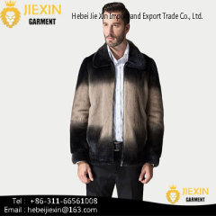New Style High Quality Hot Sale Winter Mens Faux Fur Coat Jacket
