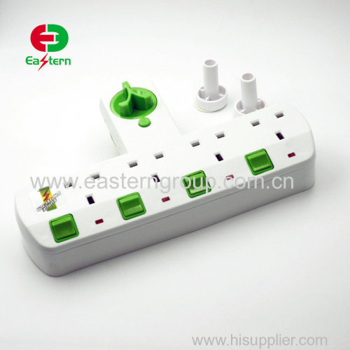 High Quality Electrical Multi Socket Travel Adaptor UK Plug 250V 13A Universal Adapter