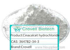 Cinacalcet hydrochloride factory Purity:99% Brand: Crovell White crystalline powder