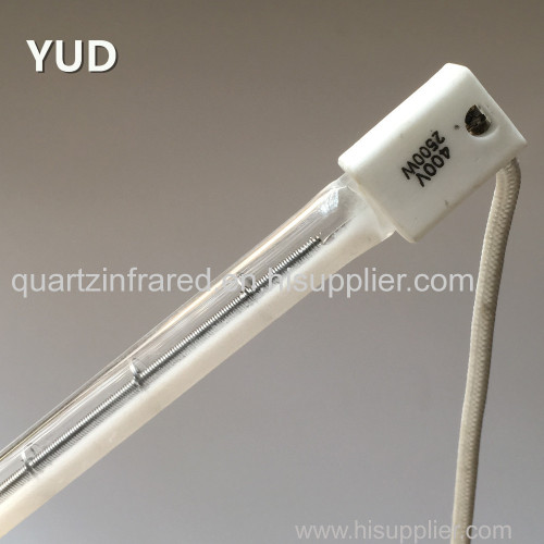 Factory custom Quartz Tube Infrared Emitters for Process Heating