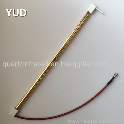 Short Wave Quartz Gold Plated Reflector Electric Infrared Heater Lamps