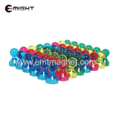 Plastic Pin magnet Magnetic Assembly Disc D10