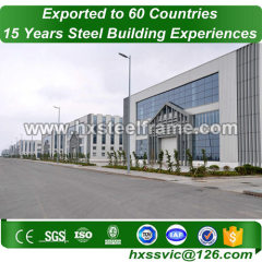 build-up steel column and light steel structure to Europe customer