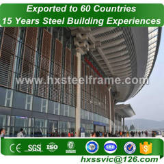 construction of steel structures formed steel shop buildings with good price
