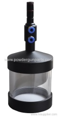 powder coating gun cup