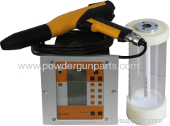 small powder coating gun system