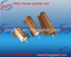 YINGFA 50W golden aluminum shell power braking fixed resistor