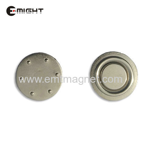 Name Badge Magnet Pot Magnet Magnetic Assembly D18 neodymium strong magnets Magnetic Tools neodymium button magnets