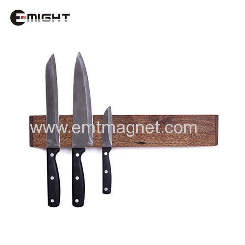 Magnetic Knife Holder Wooden Magnetic Assembly 400mm
