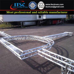 Semi Circle Truss Rigging Decorative Purpose Truss