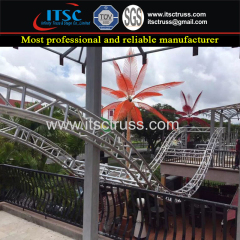 Multipurpose Truss Rigging for Outdoor Park Decoration