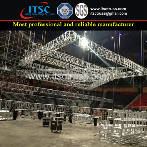 Aluminum Multipurpose Stage Show Lighting Truss Rigging From