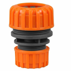 Plastic 19mm to 25mm garden water hose repairer