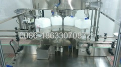 hemodialysis concentrate solution capping machine