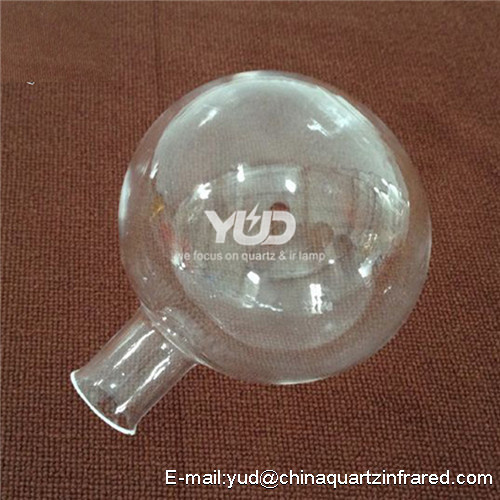customized clear quartz glass boiling flask Different Quartz Glass Boiling Flask for Lab Use