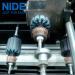 Automatic electir motor rotor armature slot insulation paper folder and inserting machine