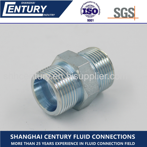 Hydraulic Adapter 24 Degree Straight Fitting Bite Type Tube Fitting Pipe Fitting
