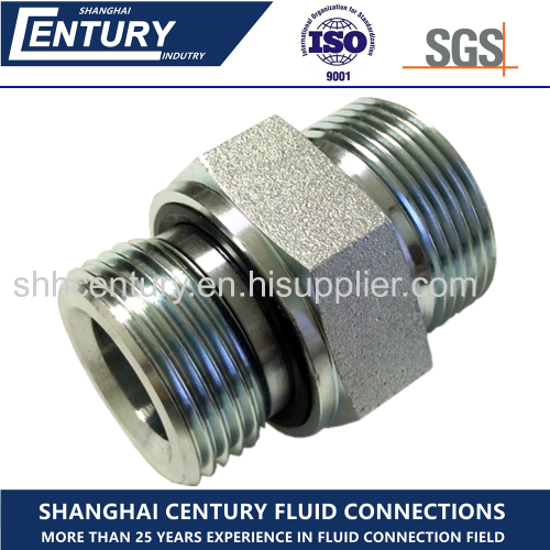GE-R-ED DIN Male Stud Connector Metric To BSPP Hydraulic Adapter Hydraulic Pipe Fitting