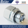 2BC 2BD EGE BSPP To Metric Swivel Connector ED Sealing Hydraulic Adaptor
