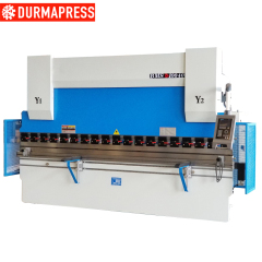 Hydraulic manual press brake machine for sale