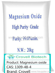 Magnesium oxide CAS: 1309-48-4 MgO anscorp Corox Burnt magnesia HOT sale high-end product