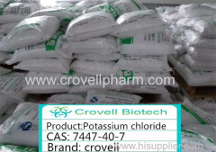 Potassium chloride CAS: 7447-40-7 ClK kcl good package hot sale products