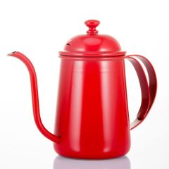 Fine mouth stainless steel teapot