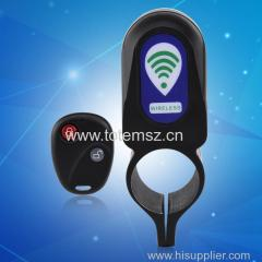 Wireless Remote Control Bicycle Lock Anti-theft Alarm