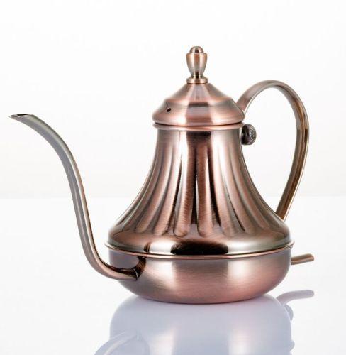 Hand coffee pot tea kettle