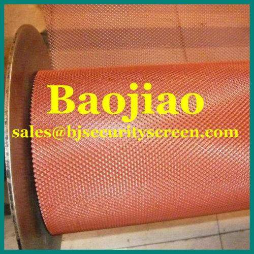 Aluminum Expanded Metal Mesh For Gutter Guard Mesh