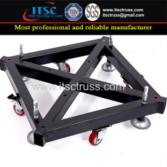 Truss Steel Base for 400x400mm Mast Section